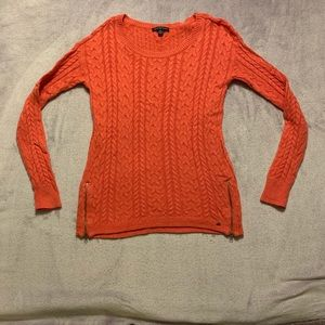 American Eagle Sweater with Zippers, Size Small